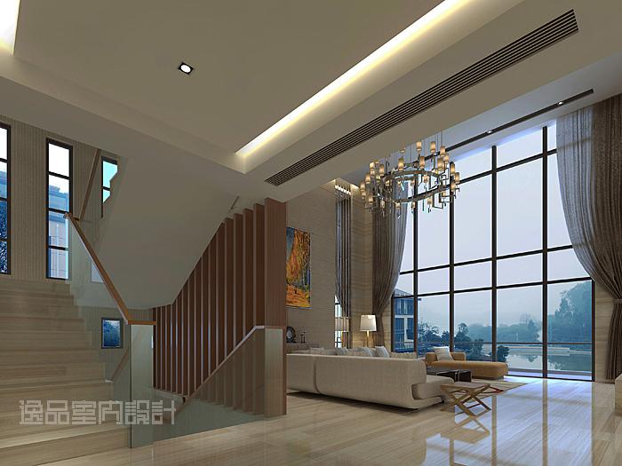 天珺湾大宅别墅室内与园林设计