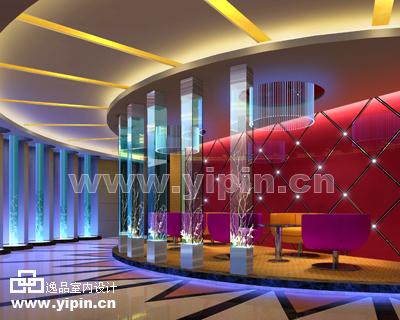 量贩式KTV室内设计-休息区设计
